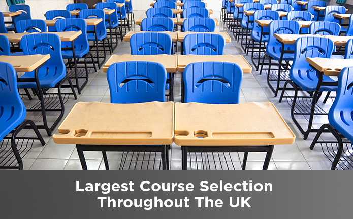 Provide more course in the UK.