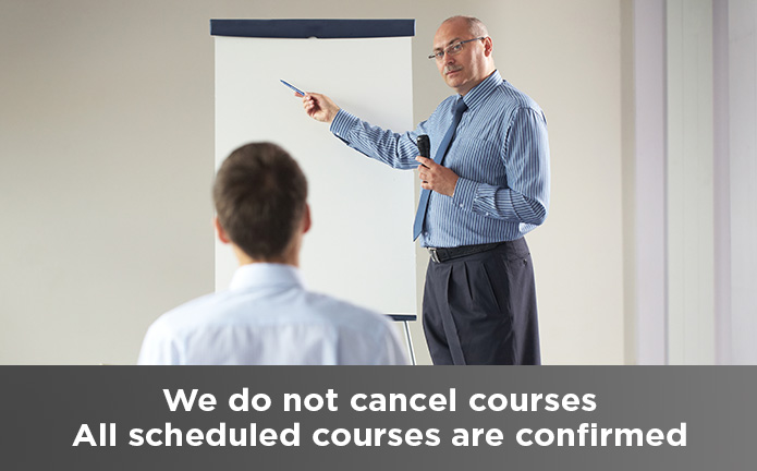 We do not cancel course.