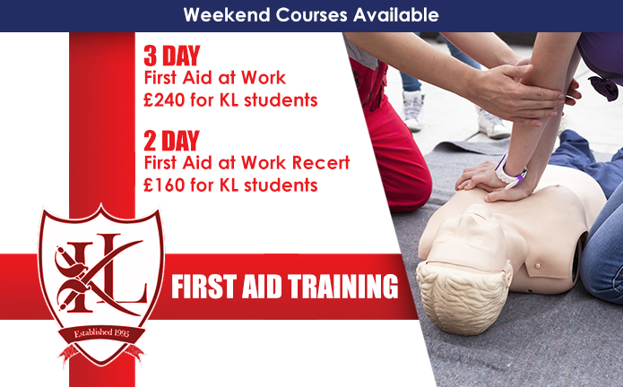 KNIGHT LEARNING FIRST AID AT WORK TRAINING